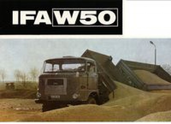 W.50 IFA - Camion si Utilaje Agricole in 4 Cilnidrii